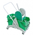 trolley_with_2_buckets_green