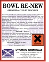 Bowl Renew - Toilet descaler - 4 pack Special Offer