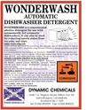 Wonderwash, automatic dishwasher detergent