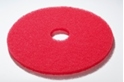 16' inch Red Buffing - Polishing Floor pads/ discs - Box of 5 - F16RD