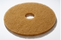 16' inch Tan Polishing Floor pads/ discs - Box of 5 - F16TN