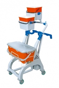 microfibre_trolley_10_litre_bucket_single_wire_frame_2_x_4_litre_buckets