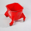 smoothline_kentucky_mop_bucket_only_with_75mm_3_castors_red