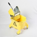 smoothline_kentucky_mop_bucket_with_large_heavy_duty_steel_geared_cm1624_wringer_yellow