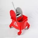 economy_kentucky_mop_bucket_with_plastic_press_max450_wringer_red