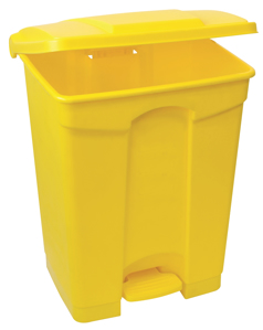 colour-coded-pedal-bin-yellow-90lt