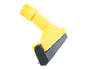 image of Floor squeegee 35cm 14 inch hygiene colour coded YELLOW