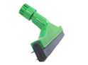 image of Floor squeegee 35cm 14 inch hygiene colour coded GREEN